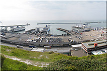 TR3341 : Eastern Docks, Dover by Oast House Archive
