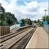 ST1477 : Waun-gron Park railway station, Cardiff by Jaggery