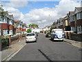 SU6105 : VW Camper van in Sunningdale Road by Basher Eyre