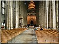 TR1557 : Canterbury Cathedral - interior by Paul Gillett