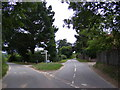 TM3563 : Glemham Road junction, Sweffling by Adrian Cable