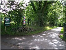 SH3233 : Entrance to Wern Fawr Manor Farm by Eric Jones