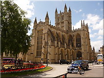 ST7564 : Bath: abbey church of St. Peter & St. Paul by Chris Downer