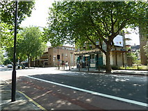 TQ3179 : Approaching the junction of  Lambeth Road and Lambeth Walk by Basher Eyre