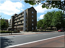 TQ3179 : China Walk Estate in Lambeth Road by Basher Eyre