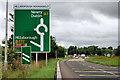 J2460 : Hillsborough roundabout (3) by Albert Bridge