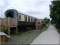 SP1953 : Carriages on The Stratford Greenway by Stuart Shepherd