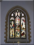 TG1807 : St.Andrew's Church Window, Colney by Adrian Cable