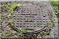 J3731 : Manhole cover, Newcastle by Albert Bridge