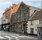 ST5038 : Avalon Conservative Club, Glastonbury by Jaggery