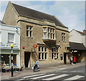 ST5038 : Glastonbury Post Office by Jaggery
