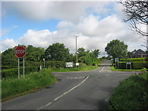 N9587 : Crossroads at Oberstown, Co. Louth by Kieran Campbell