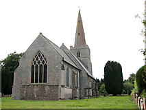 TL7388 : The church of St James in Wilton by Evelyn Simak