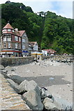 SS7249 : Lynmouth and Linton cliff railway by Graham Horn