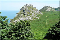 SS7049 : Valley of the Rocks by Graham Horn