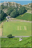 SS7049 : Lynton and Lynmouth Cricket Club by Graham Horn