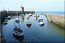SS7249 : Lynmouth Harbour by Graham Horn
