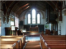 SO7023 : St. Peter's church, Clifford's Mesne - interior by Ruth Sharville