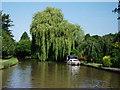 SJ4465 : Elegant canalside moorings on Shropshire Union Canal by John Brightley