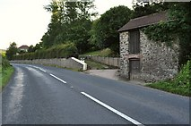 SS4939 : A property on the A361 near Heddon Mills by Roger A Smith
