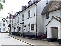 SX7087 : The Globe Inn, Chagford by Maigheach-gheal