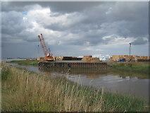 TA0623 : High water at Barrow Haven by Jonathan Thacker