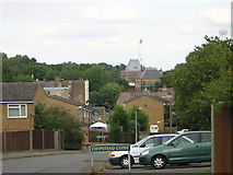 TQ3370 : Upper Norwood: Chipstead Close and Crystal Palace station by Christopher Hilton