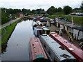 SJ5680 : Bridgewater Canal, Preston Brook by David Martin