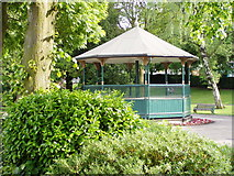 SJ9222 : Bandstand, Victoria Park, Stafford by Liz Taylor