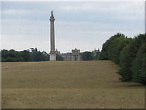 SP4317 : Column of Victory with Blenheim Palace beyond by Sarah Charlesworth