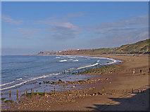 NZ8612 : Sandsend Beach by wfmillar