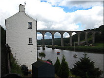 SX4368 : Calstock railway viaduct by Rod Allday