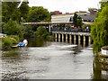 SJ4812 : River Severn, Shrewsbury by David Dixon