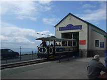 SH7683 : Great Orme Tramway (2) by Richard Hoare