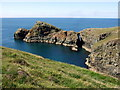 SM8032 : Pen Clegyr from the coast path by ceridwen