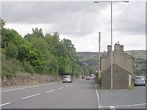 SE1307 : Greenfield Road - viewed from Park Head Lane by Betty Longbottom