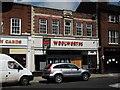 SJ6734 : Former Woolworths store, 7 High Street, Market Drayton by John Brightley