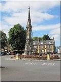 SP4540 : Banbury cross by Bill Nicholls