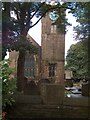 SE0237 : View of Haworth Parish Church from the parsonage garden by Neil Theasby