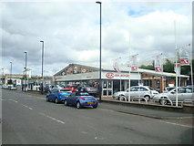 NZ2463 : Benfield Kia car dealership. Newcastle upon Tyne by Stacey Harris