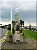 ST4071 : Another view of Annie Neumann's drinking fountain, Clevedon by Brian Robert Marshall