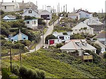 SW3526 : Maria's Lane, Sennen Cove by David Dixon
