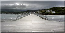 SH5873 : Bangor Pier by Steve  Fareham