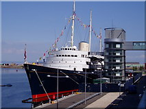 NT2677 : HMY Britannia, Ocean Terminal, Edinburgh by Graham Hogg