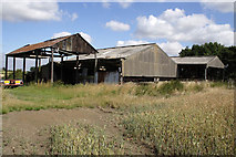 SK7428 : Barns at Mount Pleasant by Kate Jewell