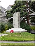 SW7834 : Memorial, Quay Hill by David Dixon