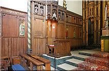 TQ2879 : St Paul, Wilton Place, London SW1 - Sanctuary by John Salmon