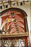 TQ2879 : St Paul, Wilton Place, London SW1 - Chancel roof by John Salmon