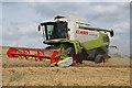 ST0005 : Cullompton: harvesting spring barley 1 by Martin Bodman