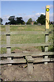 SK7428 : Stile at Mount Pleasant by Kate Jewell